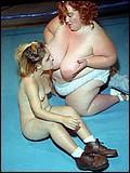 Just Right Height - Midget vs fat girl